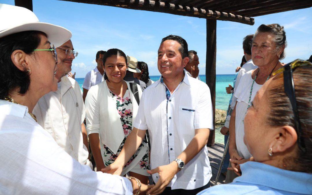Con el turismo, impulsamos el crecimiento económico y se generan más y mejores empleos para la gente: Carlos Joaquín