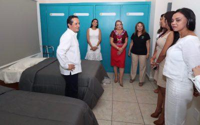 Carlos Joaquín inaugura tres nuevas villas en la Casa Hogar Ciudad de las Niñas, Niños y Adolescentes