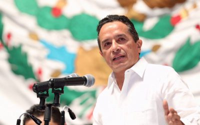 ((AUDIO)) Mensaje del Gobernador Carlos Joaquín al hacer entrega del Primer Informe de Gobierno durante la Sesión Solemne de la XV Legislatura del Congreso del Estado. CHETUMAL.