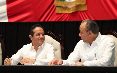 ((FOTOS) Mensaje del Gobernador Carlos Joaquín ante el congreso del estado en la entrega de su Primer Informe de Gobierno.