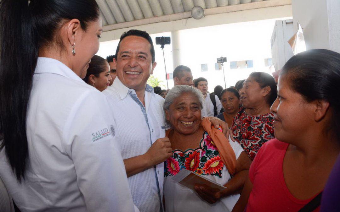 Con un gobierno incluyente, las comunidades indígenas mejoran su calidad de vida: Carlos Joaquín