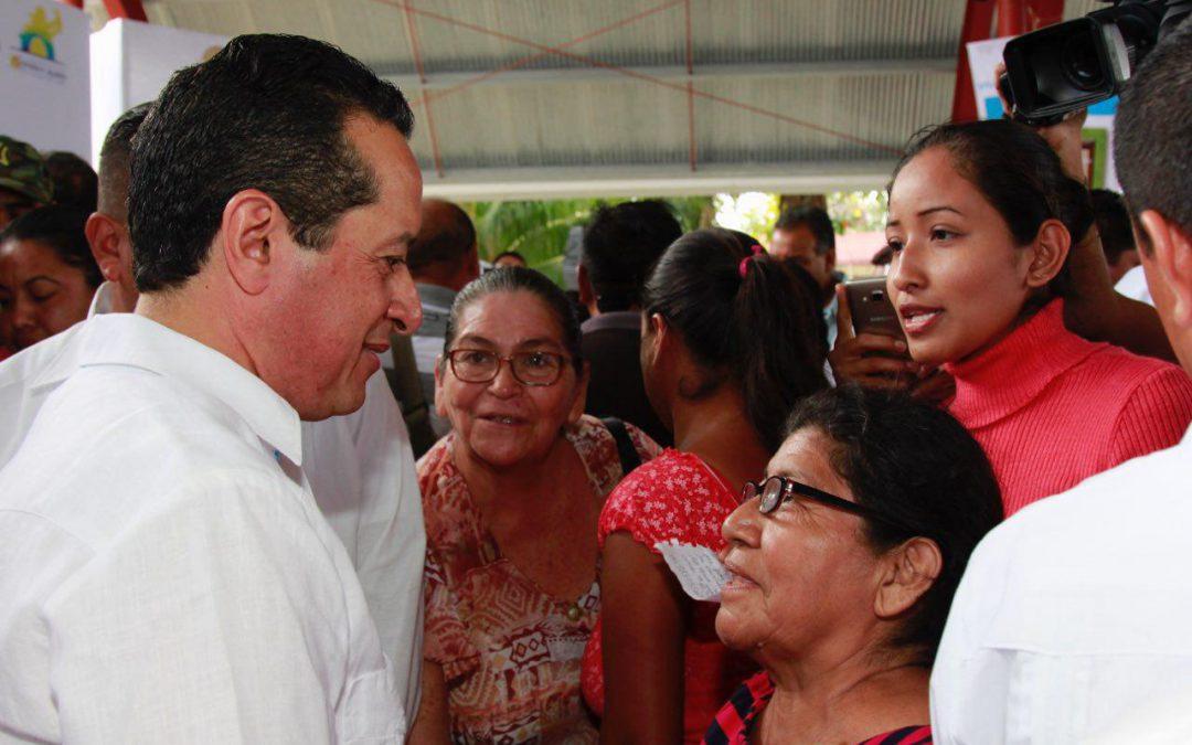 La recomposición del tejido social permite avanzar hacia la construcción de una sociedad más equilibrada: Carlos Joaquín