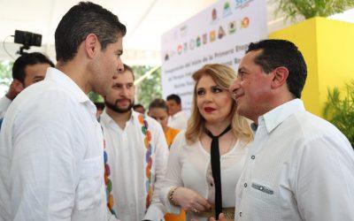 Juntos podemos detonar la diversificación económica en el sur de Quintana Roo: Carlos Joaquín