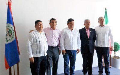 El Gobierno de Carlos Joaquín fortalece relaciones bilaterales con Belice