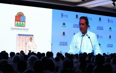 ((AUDIO)) Discurso del Gobernador Carlos Joaquín, en el Centro Internacional de Negocios y Convenciones