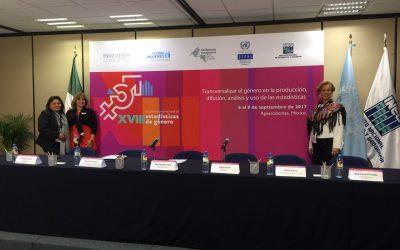 IQM participa en el XVIII Encuentro Internacional de Estadísticas de Género