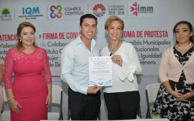 Benito Juárez adopta el mecanismo de trabajo y diseño del Programa Quintanarroense de Cultura Institucional (PQCI)
