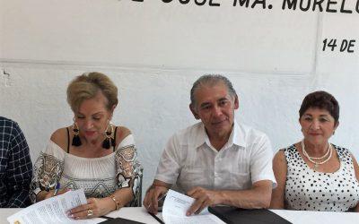 Por una cultura de igualdad y de respeto irrestricto a los derechos fundamentales de las mujeres de JMM, IQM firma convenio con el Ayuntamiento