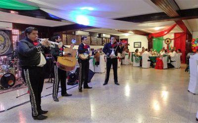 La 11 Zona Naval organizó una Noche Mexicana