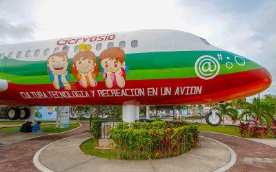 Con BiblioAvión Gervasio, Quintana Roo gana concurso nacional