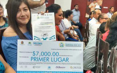 Premian a ciudadanos integrantes de Comités de Contraloría Social