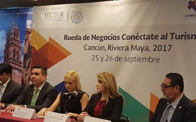 """Presentan en la Ciudad de México la rueda de negocios """"Conéctate al Turismo Riviera Maya 2017"""""""