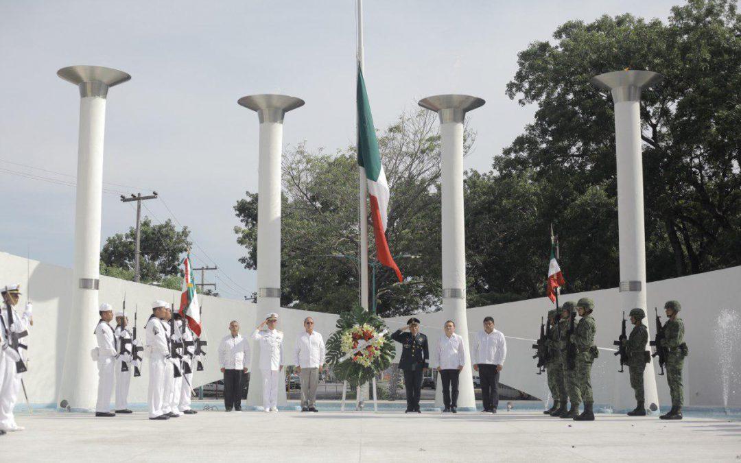 Conmemoramos el 170 Aniversario de la Gesta heroica de los Niños Héroes en Chetumal, QRoo
