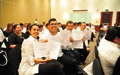 """Clausura Catalina Portillo el diplomado """"Gestión de Seguridad y Salud en el Trabajo 2017"""""""