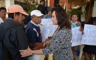 Con acciones justas, el Gobierno del Cambio resuelve inconformidad de nueve años