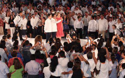 Juntos hacemos el cambio, es nuestro compromiso: Carlos Joaquín