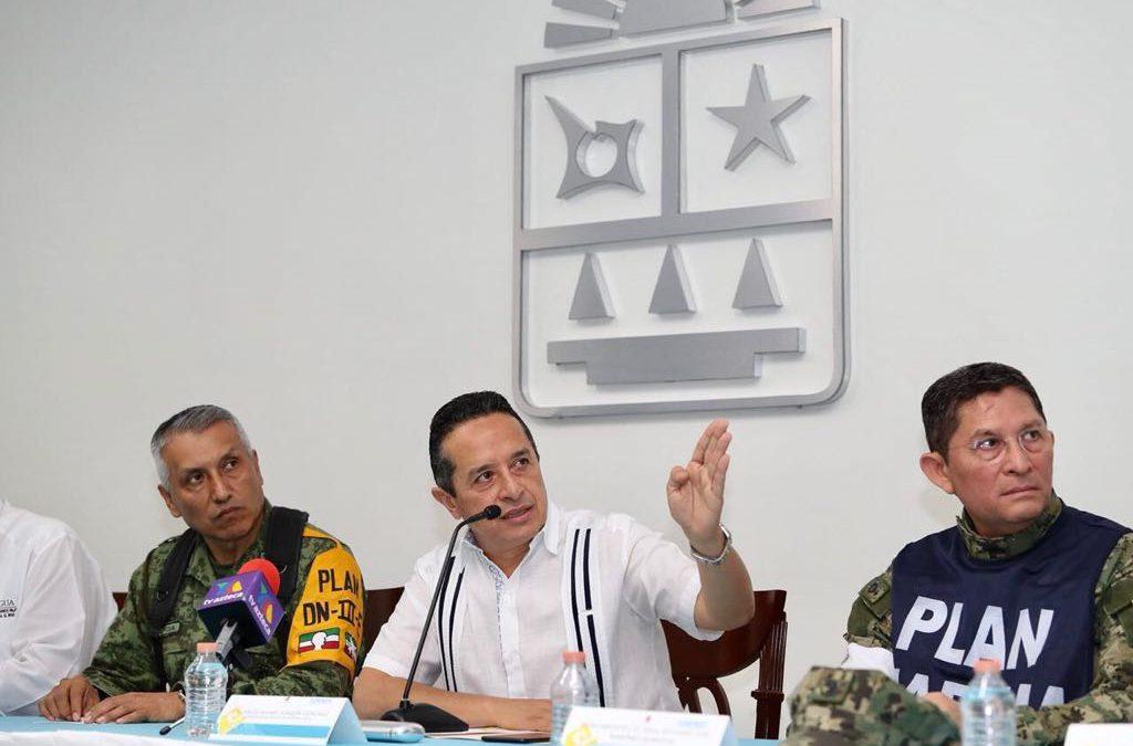 """Llama el Gobernador Carlos Joaquin a seguir y mantener los protocolos preventivos ante la presencia de la tormenta tropical """"Nate"""""""