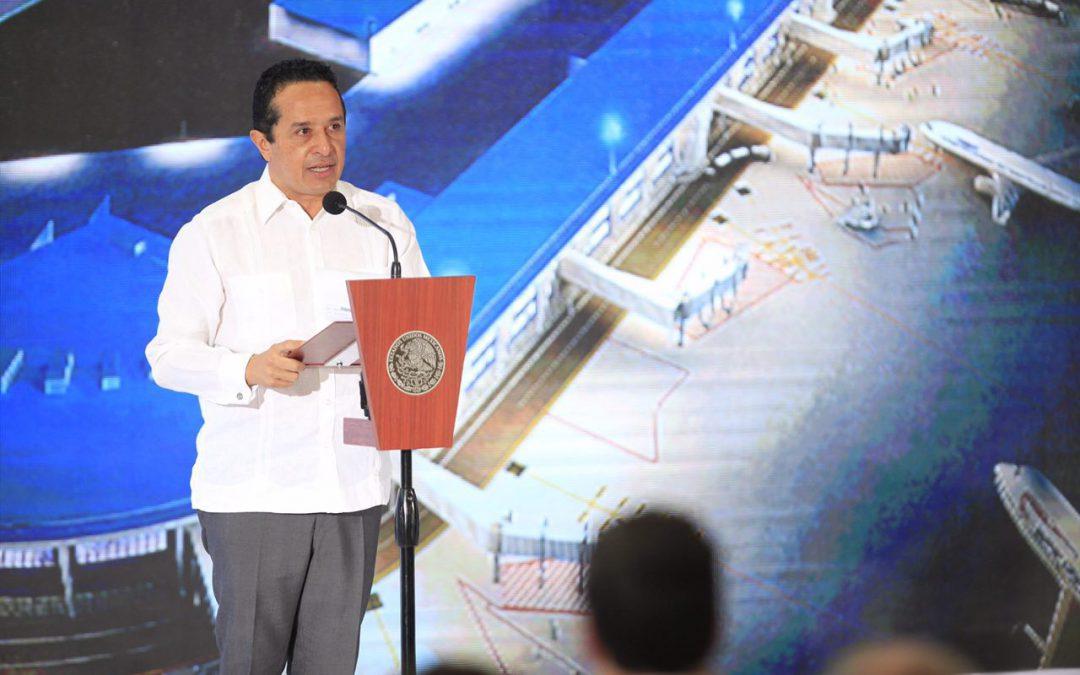 ((VIDEO)) Mensaje del Gobernador Carlos Joaquín en la inauguración de la Terminal 4 del Aeropuerto Internacional de Cancún con el Presidente Enrique Peña Nieto. CANCÚN.