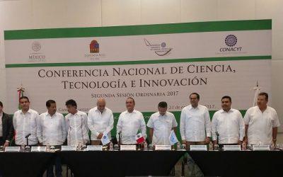 Quintana Roo, anfitrión de la Conferencia Nacional de Ciencia, Tecnología e Innovación (CNCTI)