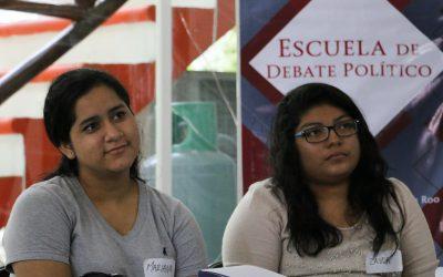 Inauguran Escuela de Debate en la Zona Maya