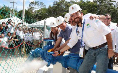 Inaugura Carlos Joaquín zona de captación de agua potable