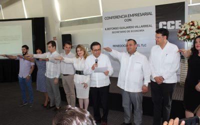 Instala Secretario federal de Economía, Ildefonso Guajardo Villarreal, el Consejo Estatal para el Desarrollo de la Competitividad de la Micro, Pequeña y Mediana Empresa
