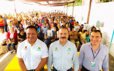 Sedeso entrega folios bancarios a potenciales beneficiarios de vivienda