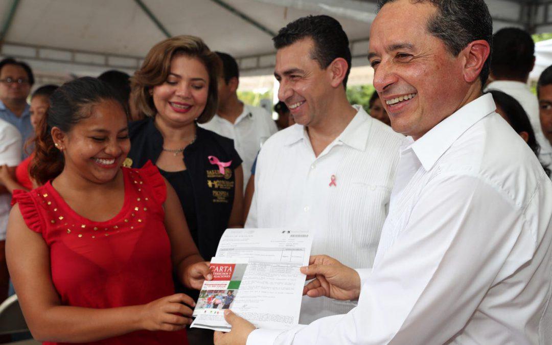 Más y mejores oportunidades para una vida plena: Carlos Joaquín