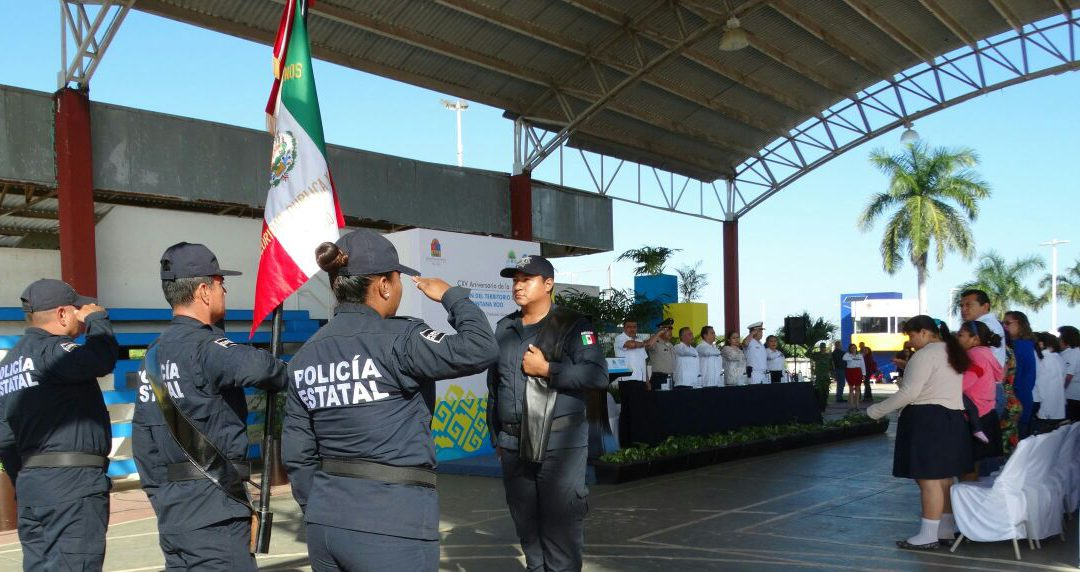 Conmemoran el 115 aniversario de la creación del Territorio Federal de Quintana Roo