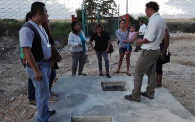 Beneficiarios de las obras de la CAPA realizan recorridos con los comités de contraloría social para fortalecer la cultura de la transparencia