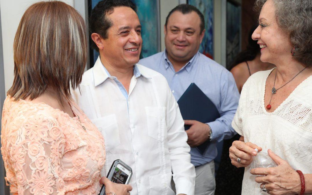 ((FOTOS)) El Gobernador Carlos Joaquín al participar en el lanzamiento del Compendio de Iniciativas de Impacto Social