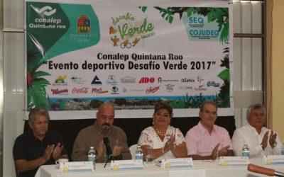 """CONALEP presenta proyecto """"Desafío Verde 2017"""" en Bacalar"""
