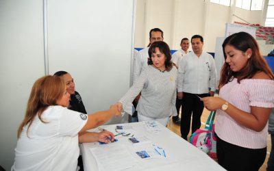 La 3a. Gran Feria de Empleo y Servicios Laborales termina con éxito en Felipe Carrillo Puerto