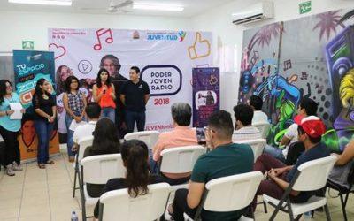 Inicia Casting Estatal Poder Joven Radio en zona norte