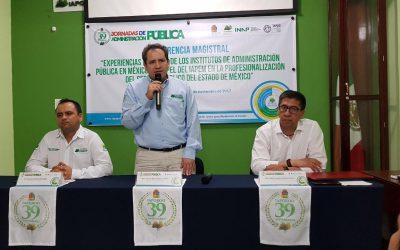 Instituto de Administración Pública del Estado de México A.C. comparte sus experiencias en Quintana Roo