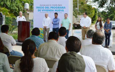 Inicia construcción de primeras 30 viviendas de 600 programadas: SEDETUS
