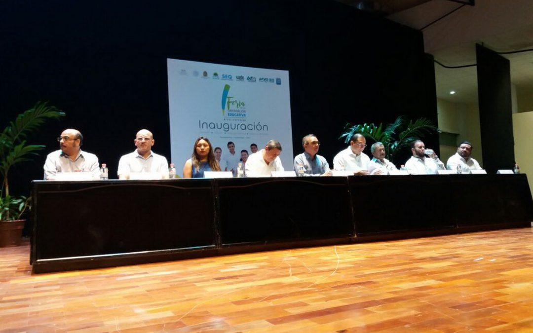 Inaugura SEQ la segunda edición de la Feria de la Orientación Educativa del Nivel Superior 2017