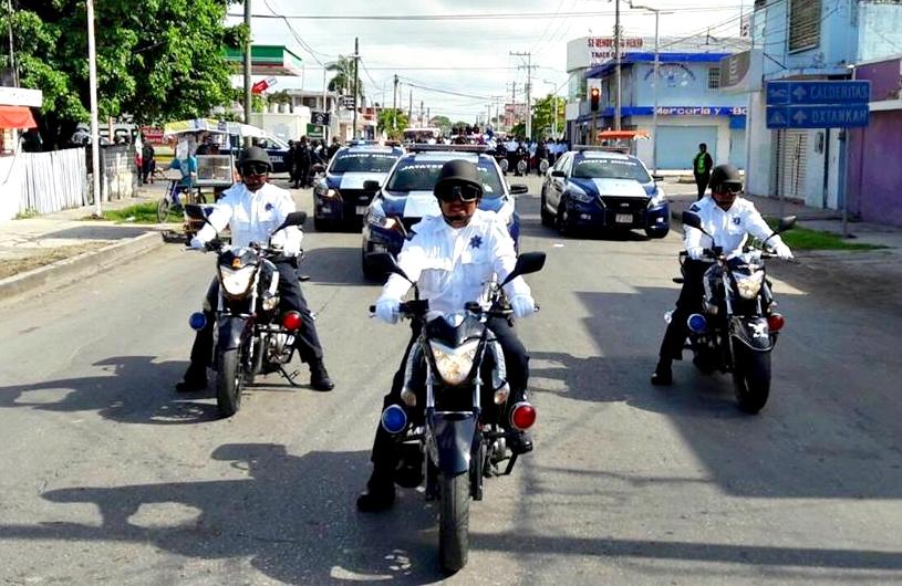 Listo Operativo de Tránsito por desfile revolucionario