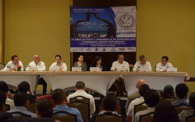 Inaugura Catalina Portillo el seminario Encuentro de Líderes