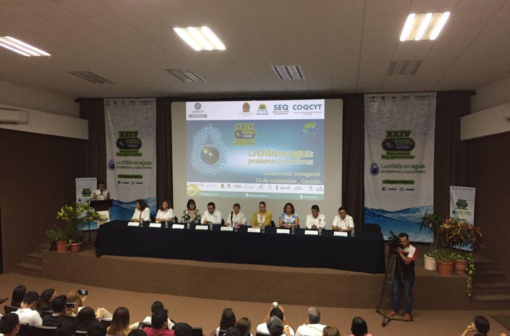 Inicia XXIV Semana Nacional de Ciencia y Tecnología