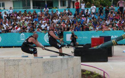 Las competencias del Strongman Champions League World Finals en Chetumal supera expectativas