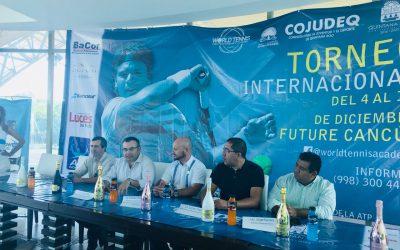 "Torneo de tenis ""International Future"" Cancún"