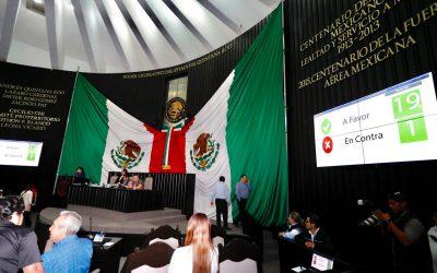Aprueba el Congreso de Quintana Roo con 19 votos a favor y uno en contra el Paquete Fiscal 2018