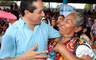 Impulsamos el crecimiento de las comunidades mayas para que las familias vivan mejor: Carlos Joaquín
