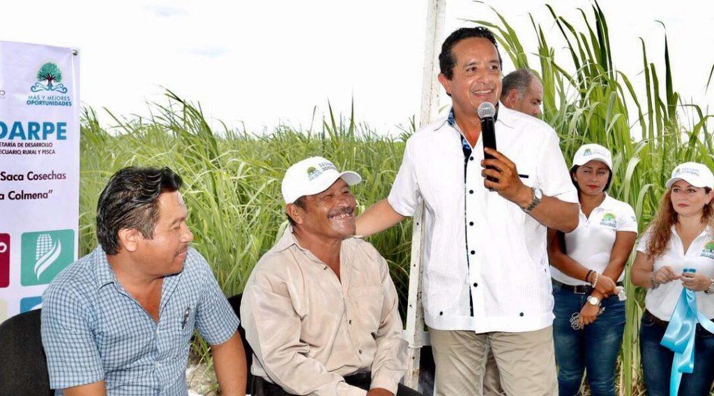 Para que las familias rurales mejoren su economía, el apoyo al campo es fundamental: Carlos Joaquín