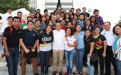 Se invierten mil 600 millones de pesos en infraestructura educativa para que los jóvenes continúen sus estudios en espacios dignos: Carlos Joaquín