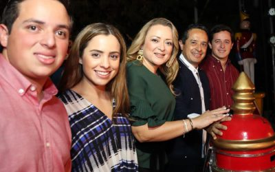 ((VIDEO)) Mensaje del Gobernador Carlos Joaquín en el evento del Encendido del Árbol y Villa Navideña en la Plaza Cívica del Palacio de Gobierno.