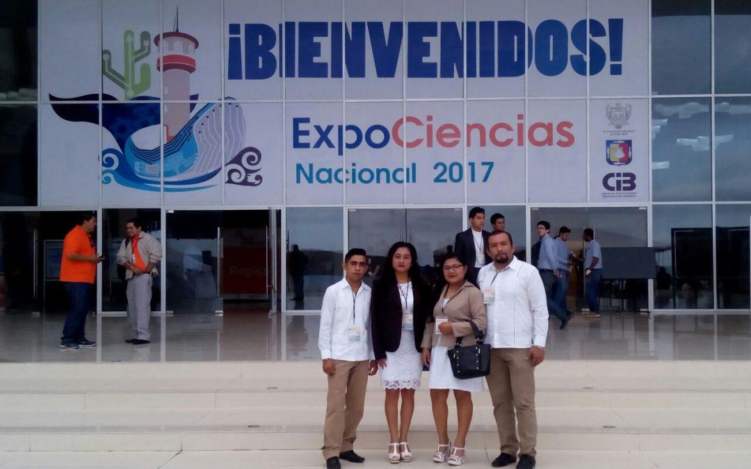 Estudiantes del plantel CONALEP Felipe Carrillo Puerto asisten a la Expo Ciencia Nacional 2017