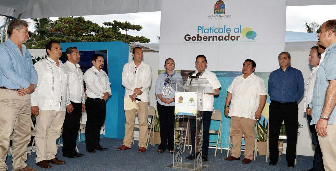 En la reconstrucción de Quintana Roo, hay que pensar en grande para diversificar la economía y no depender sólo del turismo: Carlos Joaquín