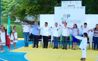 Inauguran el Segundo Encuentro Nacional de Escuelas Normales Interculturales Bilingües